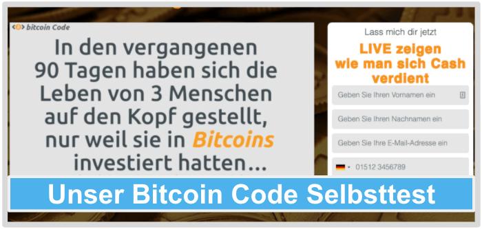 Bitcoin Code Test