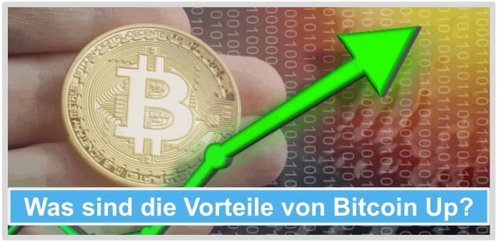 Bitcoin Up Vorteile