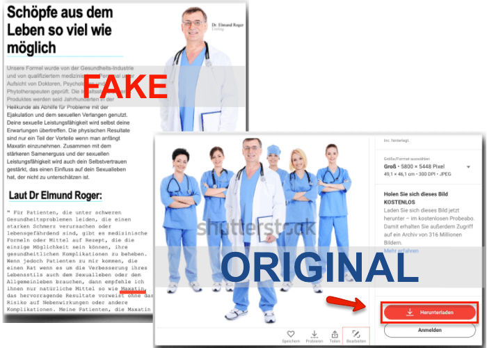 Maxatin-Fake-Arzt-